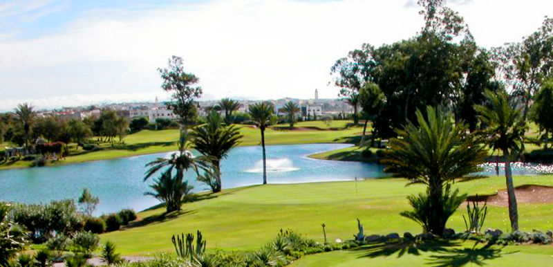 Transfer to Agadir golf